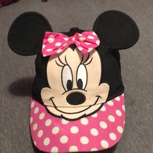 Toddler Minnie Mouse hat